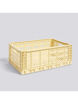 Hay Colour Crate Light Yellow Large-20