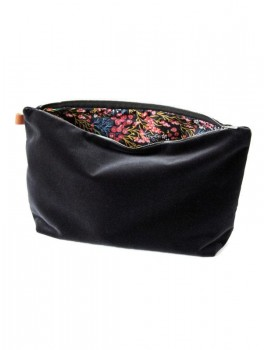 Semibasic Lush pocket Dusty Black 34x20 cm.-20