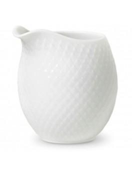 Lyngby Porcelæn Rhombe Mælkekande Hvid-20