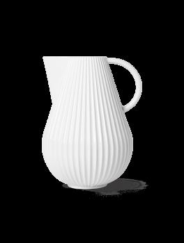 Lyngby Porcelæn Tura Kandevase hvid-20