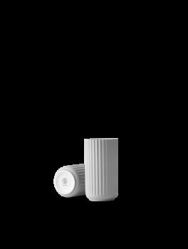 Lyngby Porcelæn Vase Lys Grå 15 cm.-20