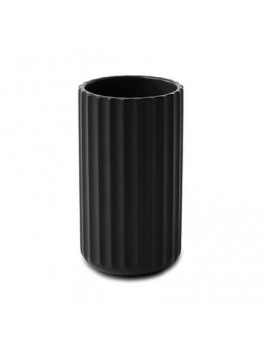 Lyngby Porcelæn Vase Sort 12 cm.-20