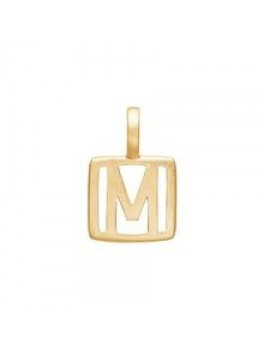 Enamel Letter Guld M-20