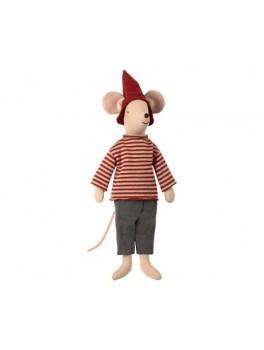 Maileg-Christmas Mouse Boy medium-20
