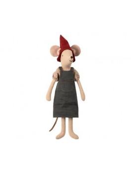 Maileg-Christmas Mouse Pige medium-20