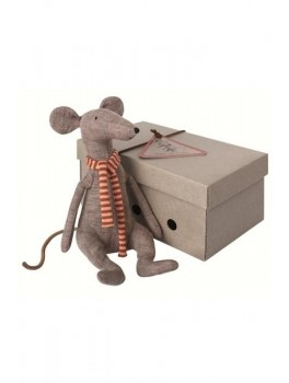 Maileg Cool Rat grey-20