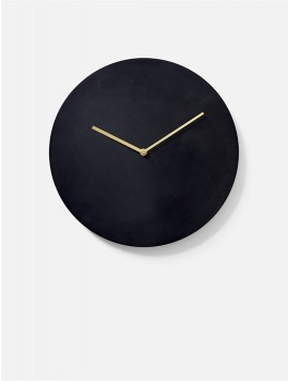 Menu Norm Wall Clock Bronzed Brass-20