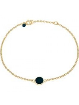 Enamel Bracelet, color dot Midnight blue-20