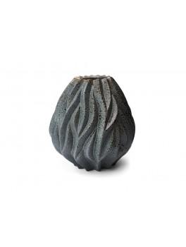 Morsø Flame vase stor 2 cm. grå/blå-20