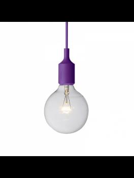 Muuto E27 lampe Lilla-20