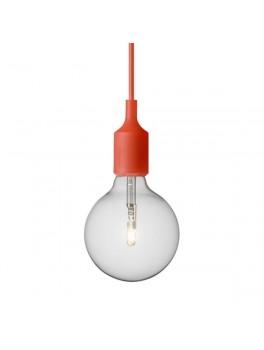 Muuto E27 lampe Rød-20
