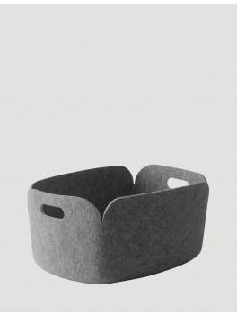 Muuto Restore Basket Grey-20
