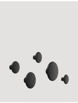 Muuto The Dots Set Black 5 stk.-20