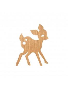 My Deer Lamp - Oiled oak