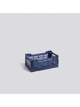 Hay Colour Crate Navy Small-20