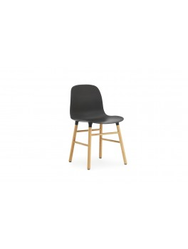 Normann Cph Form Chair Black/oak Varierende levering-20