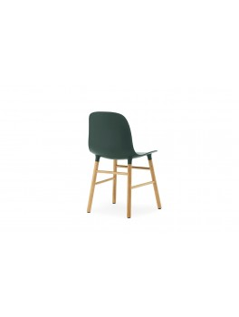 Normann Cph Form Chair green/oak varierende levering-20