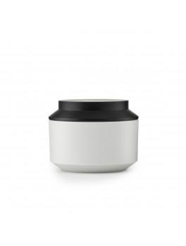 Normann Cph Geo Jar w. lid lysegrå sort Ø15-20