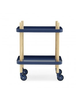 Normann Block Table dark blue-20