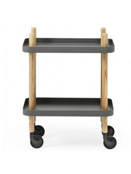 Normann Block Table dark grey-20