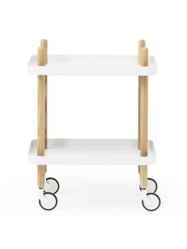 Normann Block Table white-20