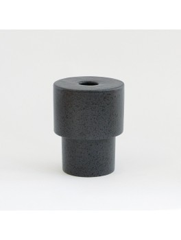 Ania Olesen vase Dark grey dots H12xØ8,5 cm.-20