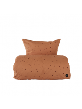 OYOY Dot sengetøj karamel/cognac-20