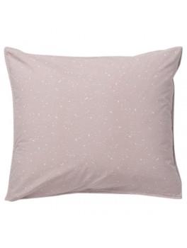 Ferm Living - Hush Pillowcase - Rose - 80x80