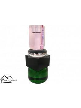 Preform House af Sander Jasmin lysestage grøn, sort, gennemsigtig og lyserød.-20