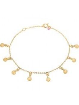 Enamel Bracelet, raindrops Guld-20