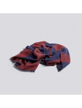 Hay Mohair plaid Red-20