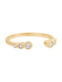 Enamel Romance ring Guld Justerbar-20