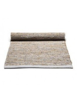 Rug Solid Jute Rug Smooth grey 65x135 cm.-20