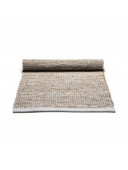 Rug Solid Jute Rug Smooth Grey. str. 75x200cm.-20