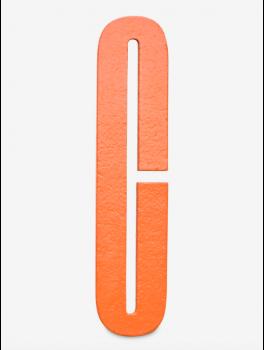 Design Letters - Bogstav - C - Orange