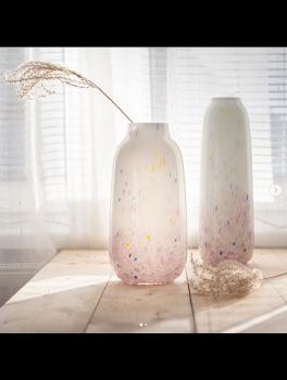 Anna von Lipa Opal vase 30 cm. Splash farvet.-20