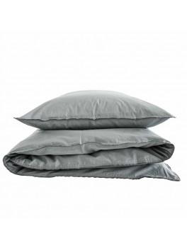 Semibasic Dobbelt bedlinen grey/grey-20