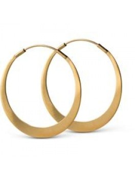 Enamel-Simplicity earring Guld-20
