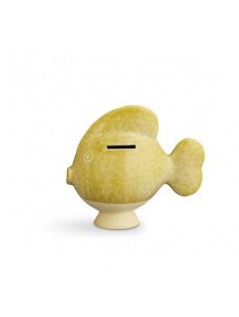 Kähler Sparedyr Gul fisk H15 cm.-20