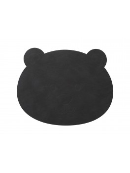 LindDNA Bear tablemat Nupo (Black)-20