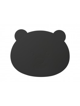 LindDNA Bear Table mat Softbuck (Dark Grey)-20