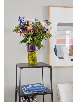 Hay Moroccan vase, Yellow-20
