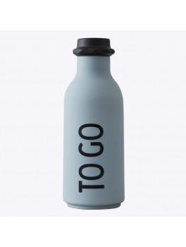 Design Letters To Go water bottle Grå-20