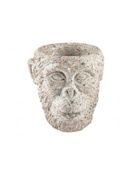 Villa Collection Gorilla Urtepotteskjuler grånistret cement ø 22 cm-20