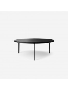 Vipp425 Coffee Table Ø90 Black Marble-20