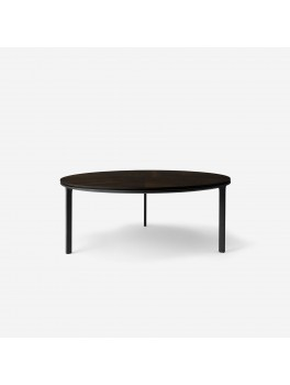 Vipp425 Coffee Table Ø90 Dark Oak-20