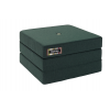 By Klipklap KK 3fold single (Deep Green 920 w. light green button). Varierende levering.-01