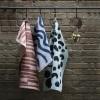Ferm Living Brush Tea Towels mint-01