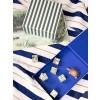 Ferm Living Striped box Green/off-white-01