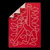 Kay Bojesen Plaid (Rød)-01